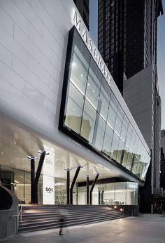501 Swanson: Melbourne's Audi and Maserati Dealership by Elenberg Fraser