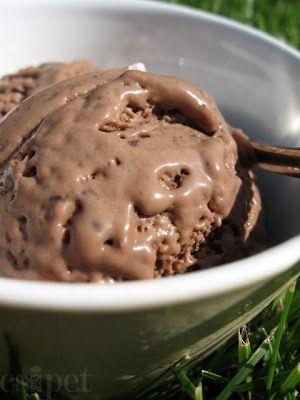 egycsipet: Kókuszos csokifagyi