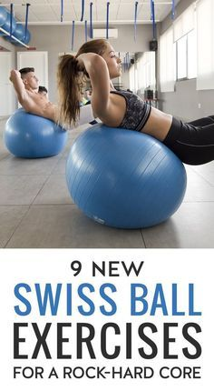 This workout will strengthen your entire body, especially focusing on your abdominals and other core muscles. Best of all, the only equipment you need to do the workout is a Swiss ball and a set of dumbbells.