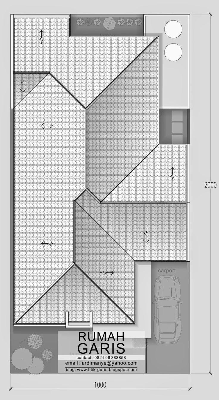 jasa+desain+rumah+minimalis+modern+di+Bone+-+rencana+atap.jpg (878×1600)