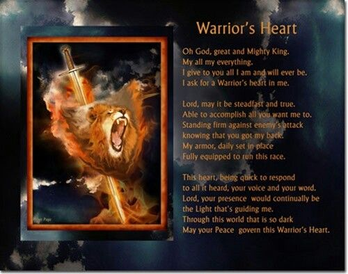 Heart Of A Warrior Quotes: 40 Best Images About God's Warrior On Pinterest