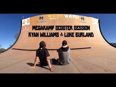 Megaramp Scooter Session | Ryan Williams #sport #fun #scooter #trotinette