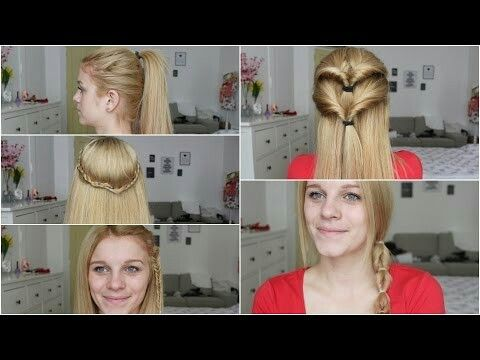 Easy hair #FollowAnna #youtube