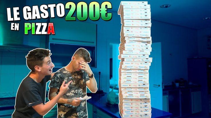 ME DEJA SU TARJETA DE CREDITO Y LE GASTO 200€ EN PIZZAS!! BROMA MUY PESADA [bytarifa] - YouTube