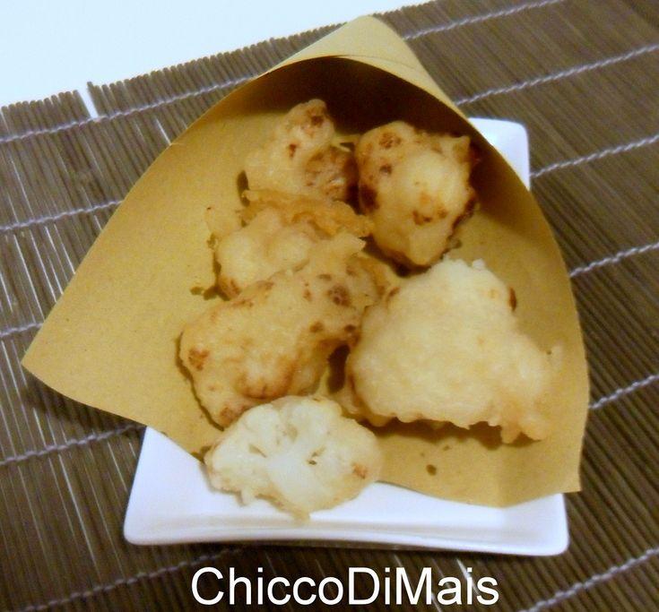 Broccolo o cavolfiore fritto in pastella (ricetta con farina di riso)