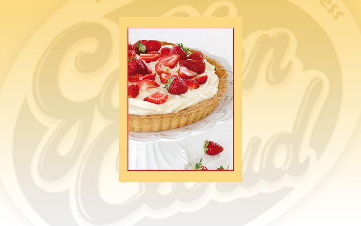 Golden Cloud Chocolate & Strawberry Tart