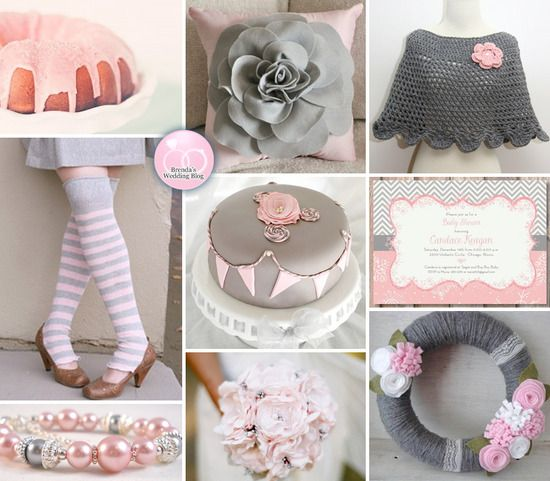 A Handmade Pink and Grey Winter Wedding Inspiration Board: Paintings Colors, Grey Weddings, Colors Palettes, Wedding Blog, Wedding Inspiration Boards, Handmade Pink, Winter Wedding Inspiration, Winter Weddings, Grey Winter Wedding