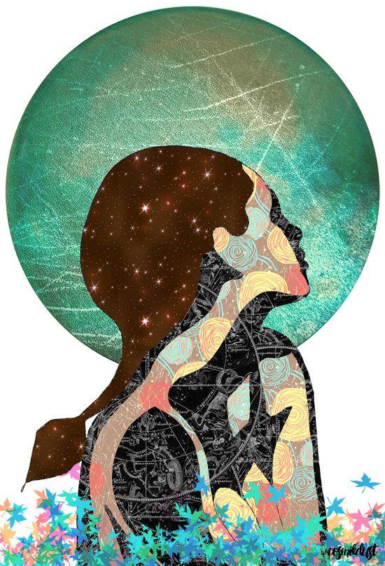 Taurus (zodiac series 1) Art Print