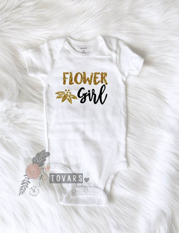Flower Girl Shirt Wedding Party Shirt Flower #clothing #children #girl @EtsyMktgTool http://etsy.me/2z0RcAx