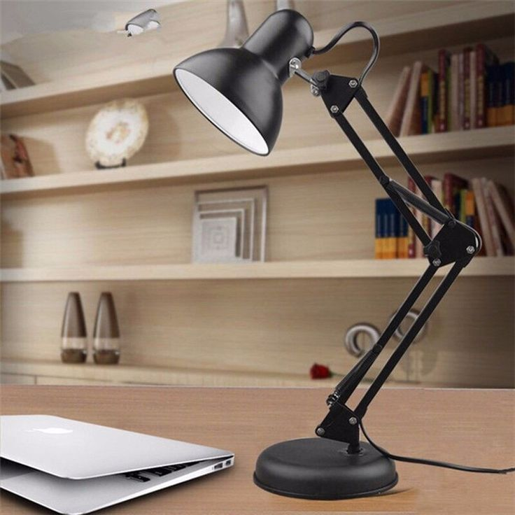 office max table lamps lamp vector new led student study dormitory work bedroom arm folding clip night lights book desk home idea online