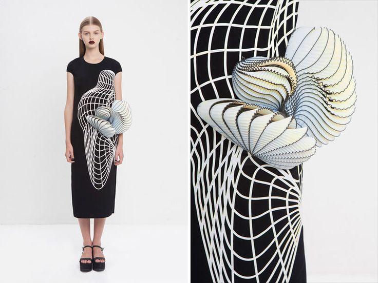 Classical Art-Inspired Fashion : Noa Raviv
