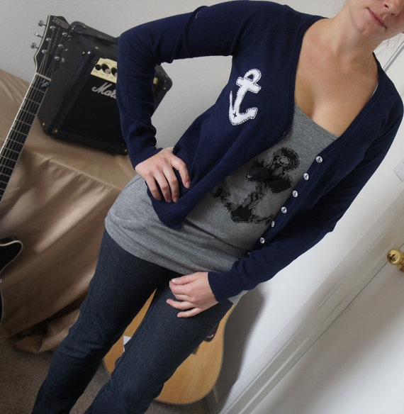 wish we could make cardigans like this!
