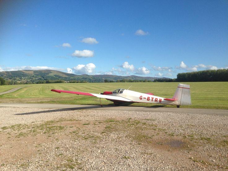 Glider ☀️ Clwydian Range  North Wales - Denbigh