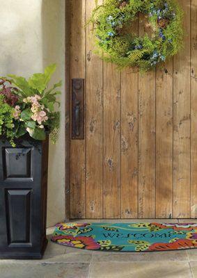 front door mats asian