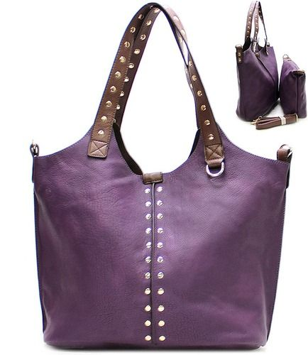 Purple Rhinestone Purse and Bag Tote Bag, starting at $15.