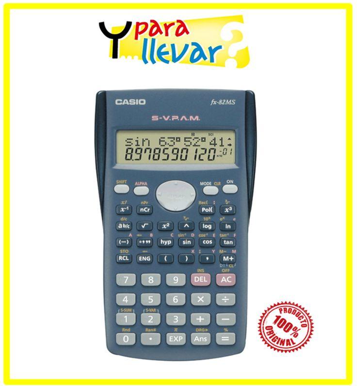 Calculadora FX 82 MS #YParaLlevar $21.900