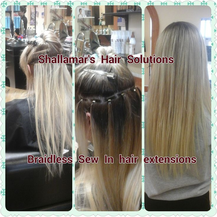 27 best braidless sew in hair extensions orlando images on try this great hair extension technique that lays completely flat with no bumps lumps or pmusecretfo Choice Image