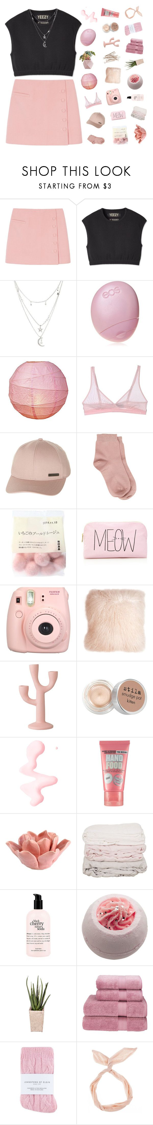 """""""i love playing these games until my heart bleeds"""" by lostmyheadd ❤ liked on Polyvore featuring Yeezy by Kanye West, Charlotte Russe, Eos, Cosabella, Billabong, Maria La Rosa, Forever 21, Fujifilm, Pillow Decor and Bloomingville"""