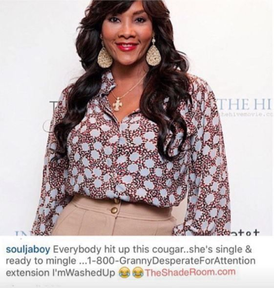 "Rapper 50 Cent Waste no Time Responding to Vivica A. Fox Rumors That He's ""Gay""- http://getmybuzzup.com/wp-content/uploads/2015/11/50cent.jpg- http://getmybuzzup.com/rapper-50-cent-waste-no-time/- By Jack Barnes Actress Vivica A. Fox was on What's Happens Live last night and made assumptions that rapper 50 Cent is gay. Once word got back to 50 Cent he waste no time responding to the rumors & trolling Vivica on Instagram.                               Follow me: Get"