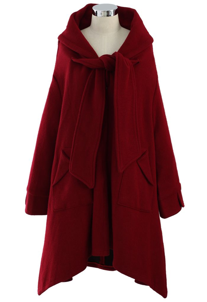 Little Red Riding Hooded Coat - sale - Retro, Indie and Unique Fashion