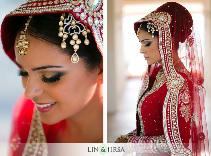 Maang tikka, jhoomar, jhumar, hair style, different dupatta style, Indian bride