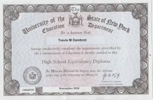 Twenty-four-year-old Travis Dambrot recently passed the TASC Test Assessing Secondary Completion™ in New York. Find out how, after dropping out of high school in 10th grade, he overcame anxiety issues to earn his high school equivalency.