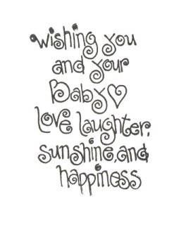 New Infant Sayings