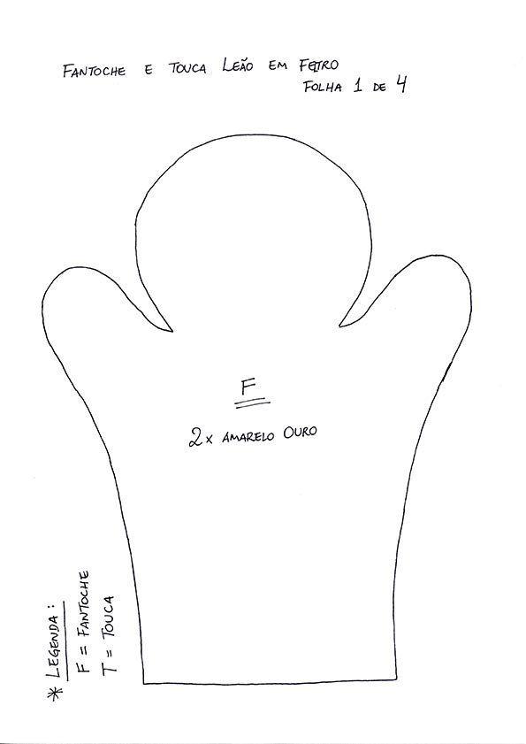 Como fazer uma touca infantil em feltro com fantoche combinando - Vila do Artesão