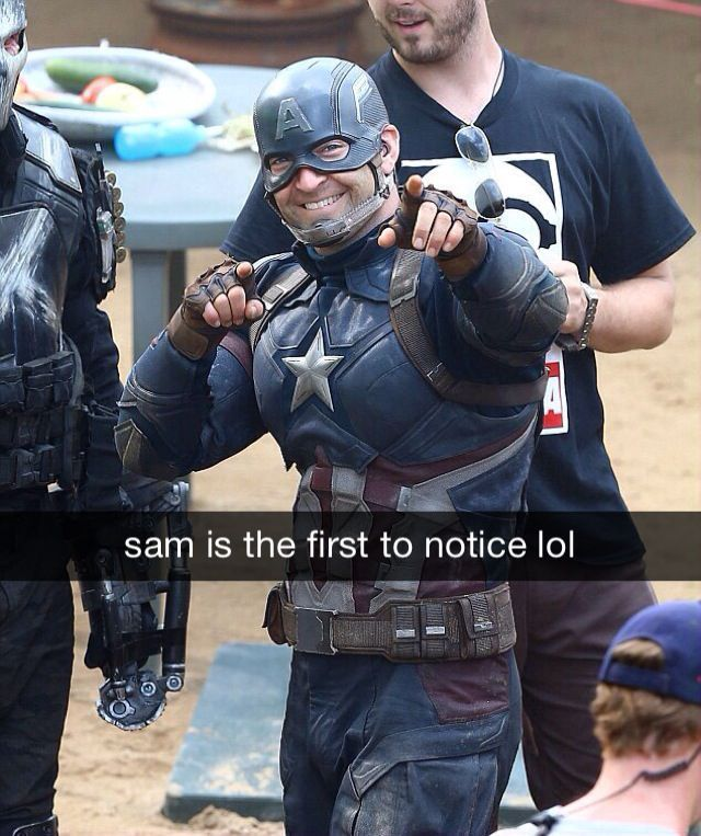 Redamancy - 19 | Marvel | Captain America, Stunt doubles