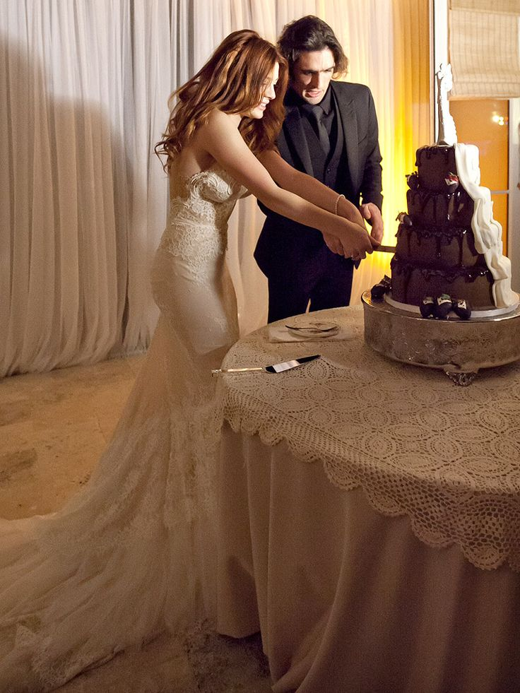 Tyson Ritter and Elena Satine Are Married - The All-American Rejects, Wedding : People.com