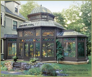 A Gardener's Dream Luxury Greenhouse: Victorian Conservatory by ...