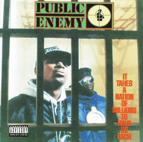 """#9: """"It Takes a Nation of Millions to Hold Us Back"""" by Public Enemy - listen with YouTube, Spotify, Rdio & Deezer on LetsLoop.com"""