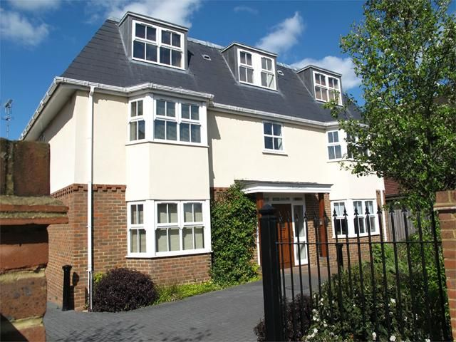 Today's Featured Property - This executive top floor apartment is situated in a small private gated development within Chertsey town centre and beautiful views overlooking Abbey Field. With the flat entrance on the first floor and stairs leading straight up to the second floor accommodation, there is also oak finished laminate flooring throughout. http://www.astonmead.com/property/?pid=3496771