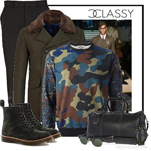 Camo chic | Men's Outfit | ASOS Fashion Finder