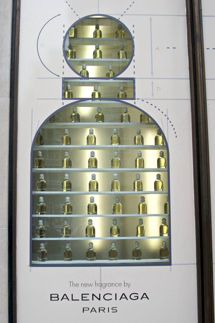 Harvey Nichols goes nuts for the new Balenciaga perfume spring 2010