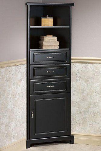 Bathroom Wall Storage Cabinets : 6 Outstanding corner bathroom linen cabinet   Detroitgreenmap.org