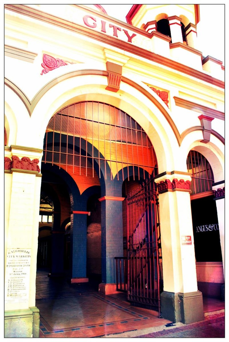 The old Kalgoorlie City Markets building.