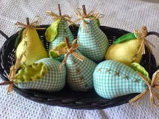 PAP das peras em tecido                                                                                                                                                                                 Mais