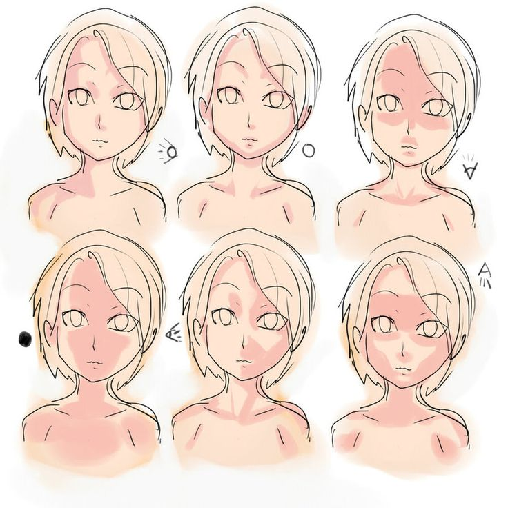 Where To Shade Faces Anime - Google Search | Portrait Study | Pinterest | Shades Anime And Search