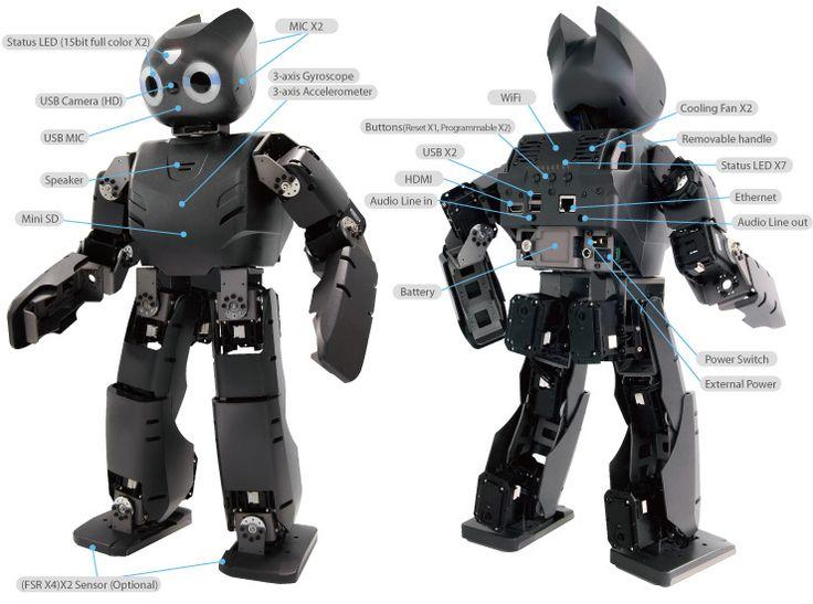 Robotis Darwin OP Humanoid Robot Kit