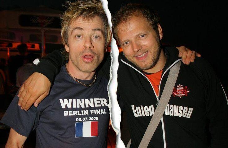 Das war einmal vor 10 Jahren: Michael Mittermeier (l.) und Mario Barth glücklich vereint.