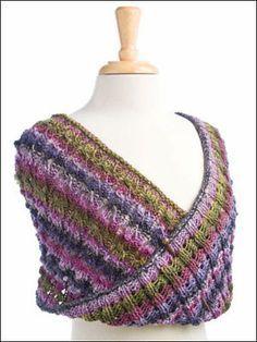 crochet pattern - scarf with swirl pattern   MOBIUS KNITTING PATTERNS   2000 Free Patterns