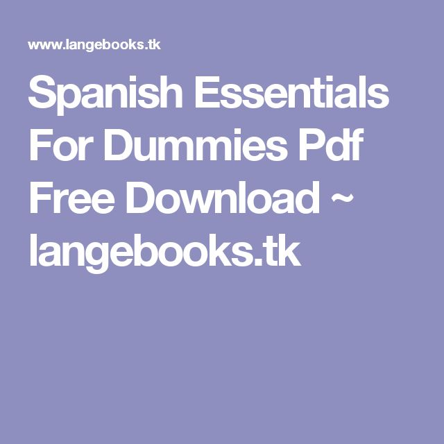 Speed Reading For Dummies Pdf Download
