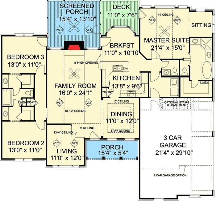 898 Best House Plans Images On Pinterest House Floor Plans House Blueprints And Sims House