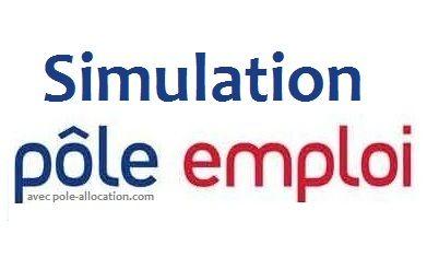 SIMULATION Chomage Pôle Emploi Gratuit (Calcul Assedic officiel)