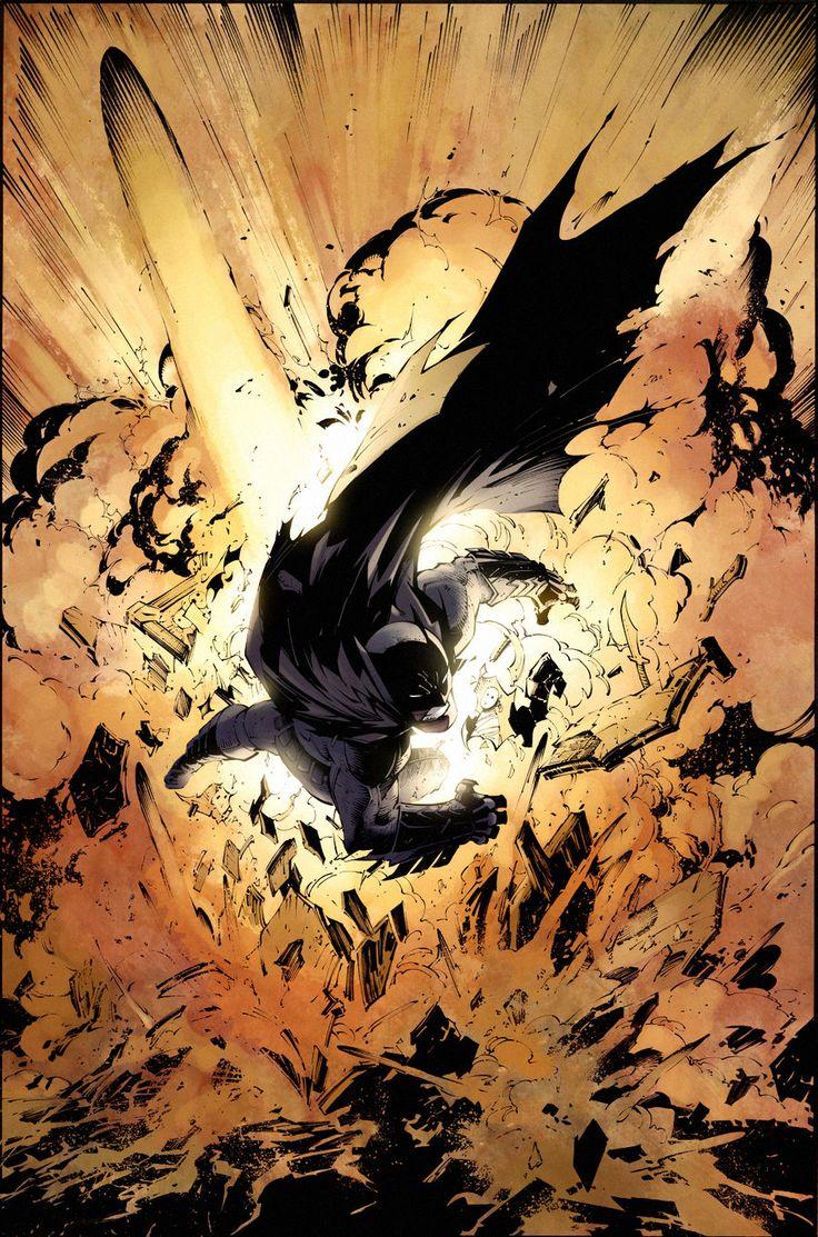 Batman by Greg Capullo by *SpicerColor on deviantART