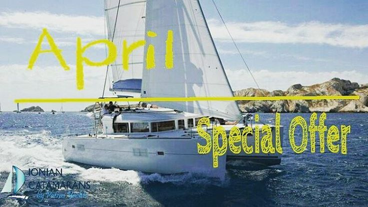 Lagoon 400 April Special Offer!