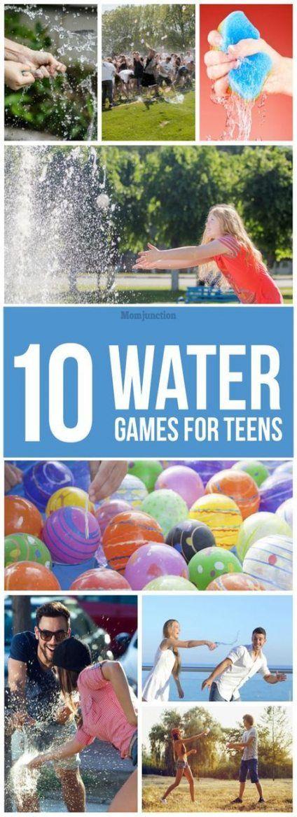 24+ besten Ideen für Wasserspiele für Jugendliche Party-Ideen Schwimmbäder – #games #ideas #party # …