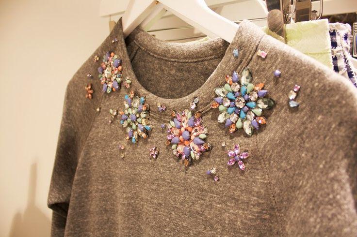 Está na moda: tricôs e moletons bordados - veja como usar                                                                                                                                                                                 Mais