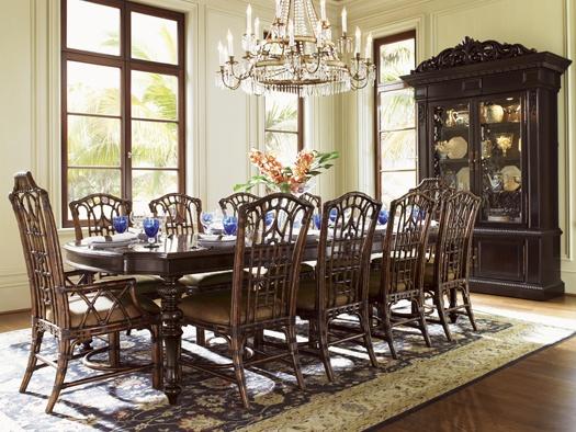 Royal Kahala Islands Edge Dining Table Seats 10